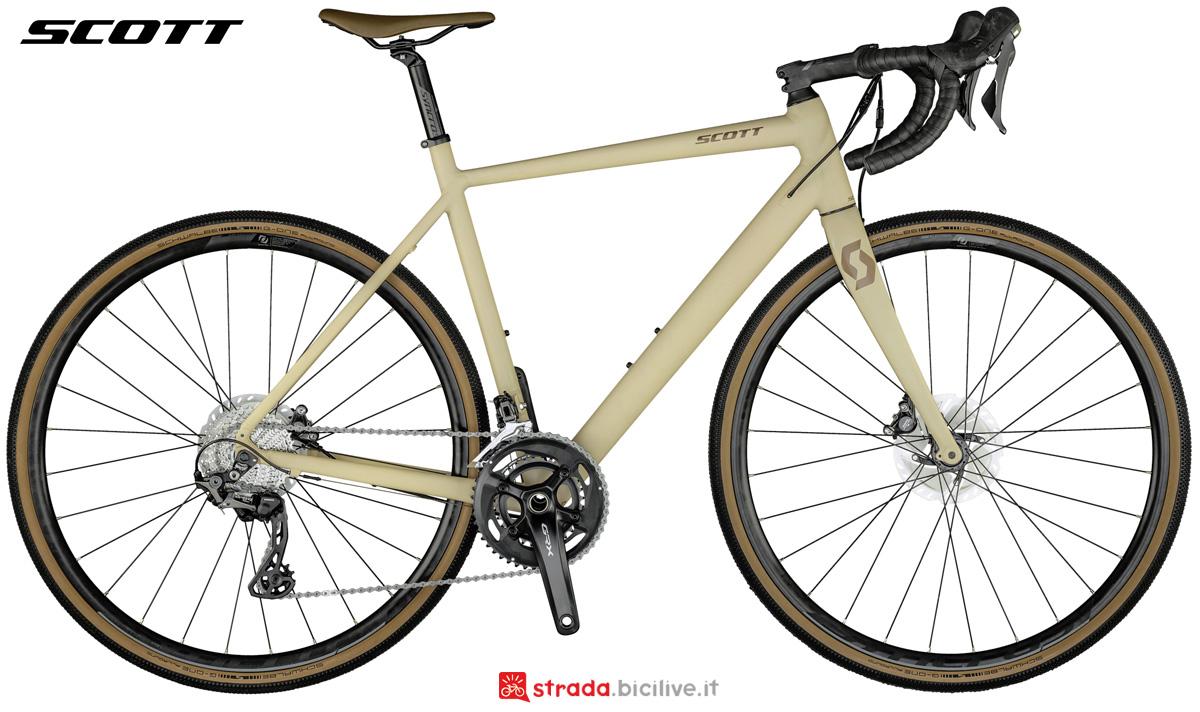 Una bicicletta da gravel Scott Speedster Gravel 10 2021