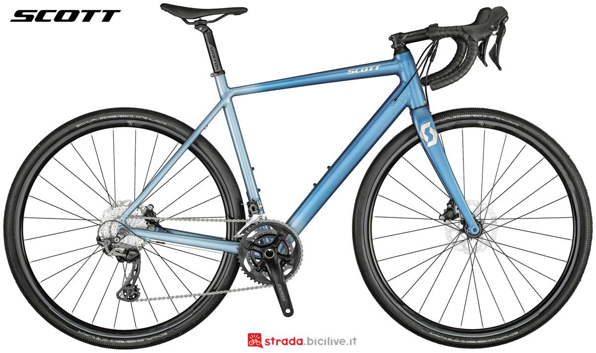 Una bicicletta da offroad Scott Speedster Gravel 20 dal catalogo 2021