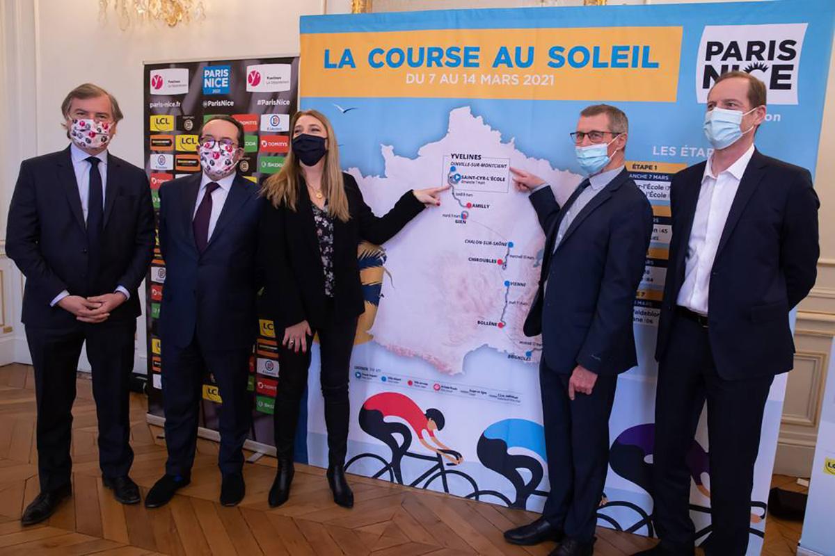 La presentazione del percorso 2021 della Parigi-Nizza