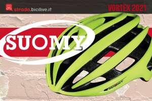 Suomy Vortex: casco italiano bici corsa versatile ed economico