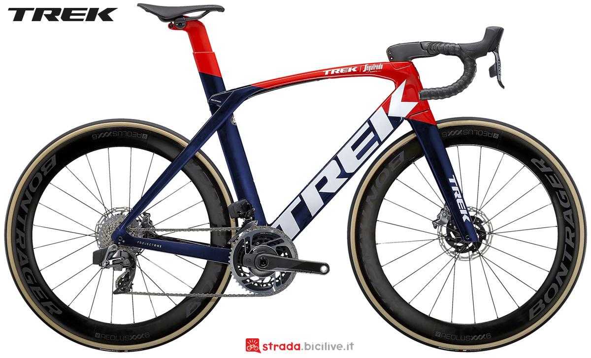 Bicicletta da corsa Trek Madone SLR 9 eTap 2021