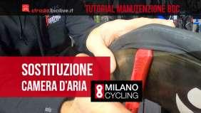 Il tutorial in collaborazione con Milano Cycling per la sostituzione del copertoncino e camera d'aria in una bici da corsa