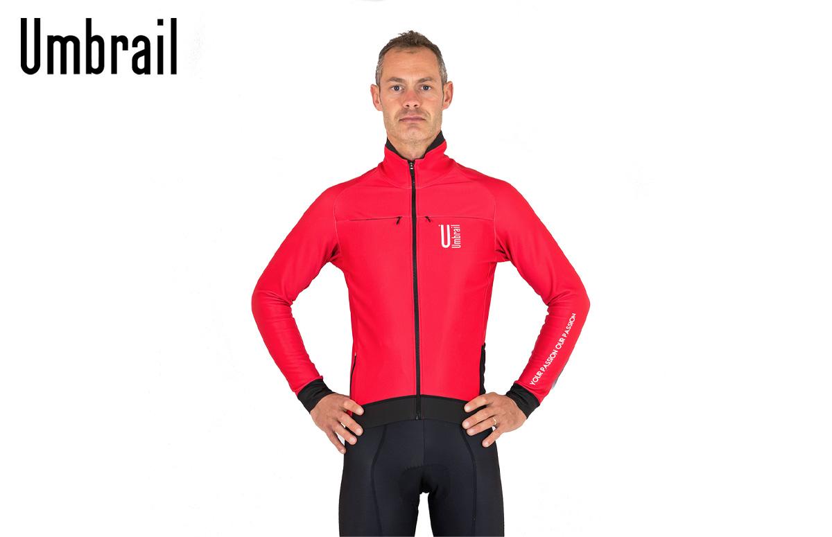 La nuova giacca da ciclismo invernale Umbrail De Rubertis