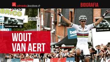 Wout van Aert: storia palmarès del ciclista pro belga