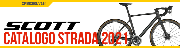 Catalogo bici da strada e gravel 2021 Scott