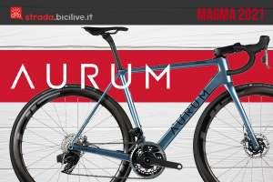 La nuova bici da corsa Aurum Magma 2021