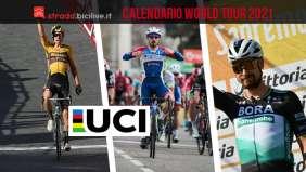 Calendario gare UCI World Tour 2021