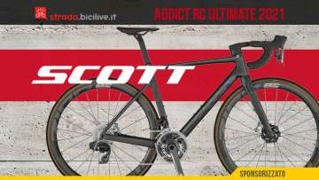 La nuova bici da corsa Scott Addict RC Ultimate 2021