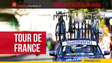 Shimano sarà il fornitore dell'assistenza neutra durante il Tour de France 2021