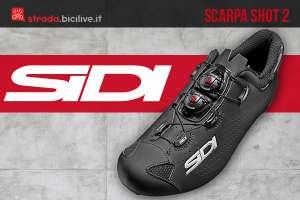 Sidi Shot 2 2021: scarpa ciclismo pro confortevole