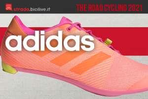 La nuova scarpa per bicicletta da strada Adidas The Road Cycling 2021