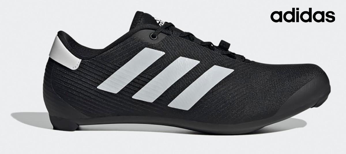 La nuova scarpa per bici da corsa Adidas The Road Cycling 2021 vista lateralmente