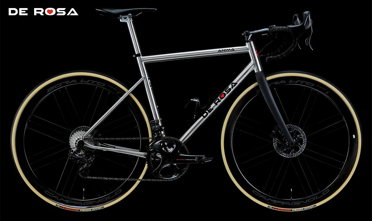 La nuova bici da strada De Rosa Anima 2021