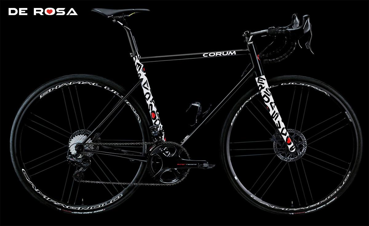 La nuova bici stradale De Rosa Corum 2021