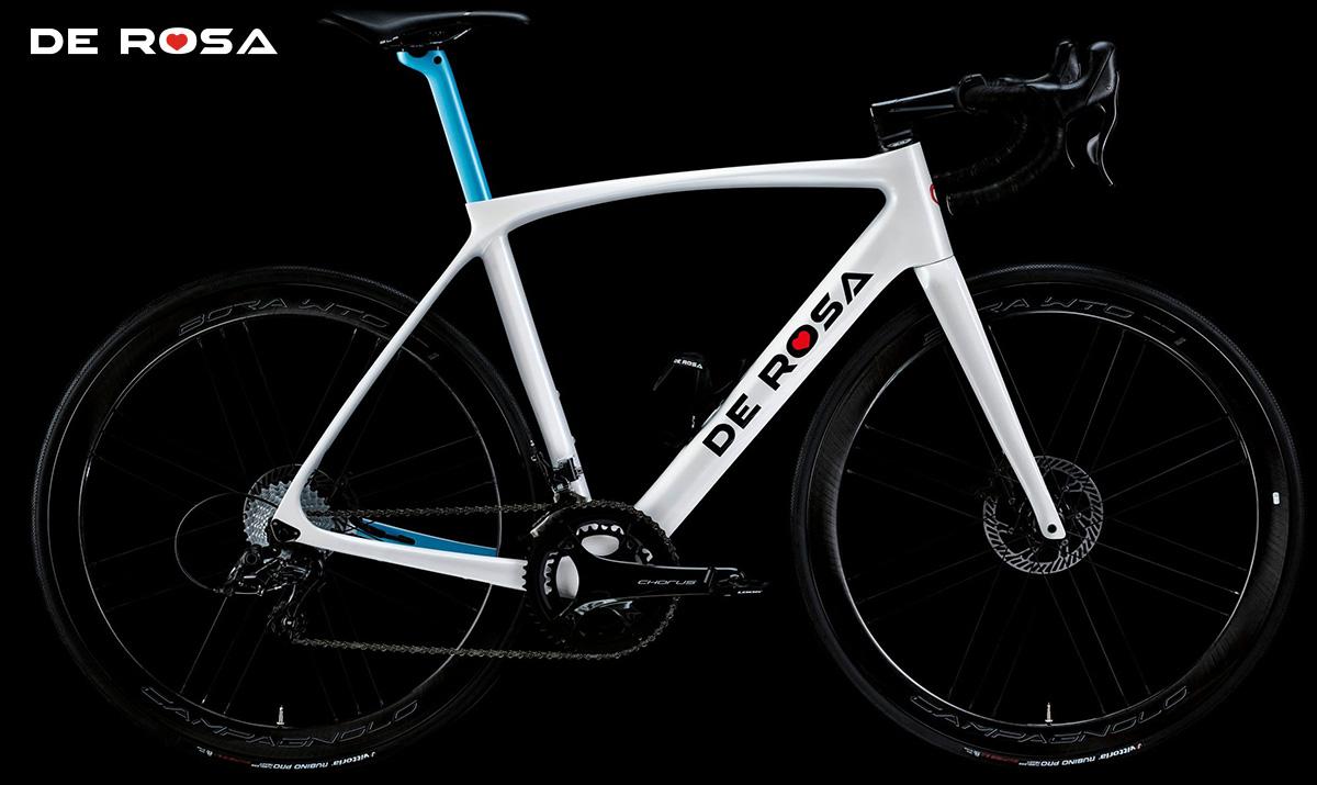La nuova bici da corsa De Rosa Idol Disc 2021