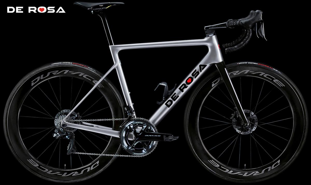 La nuova bici da corsa De Rosa Merak 2021