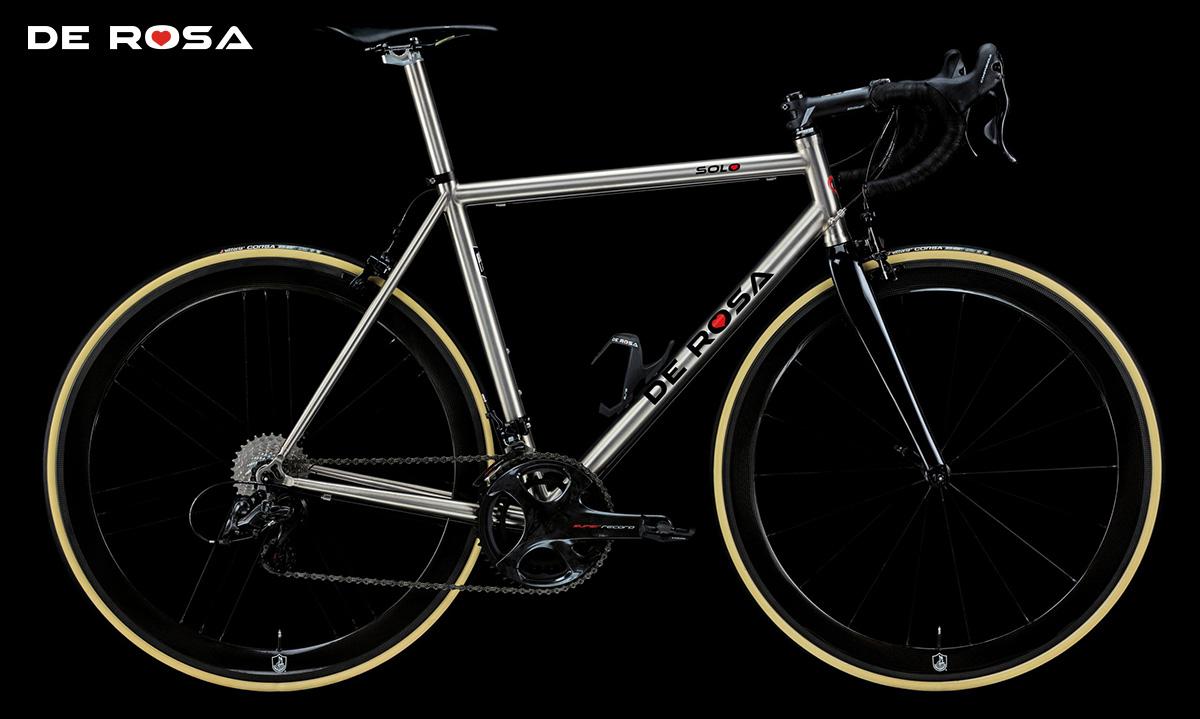 La nuova bici da corsa De Rosa Solo 2021