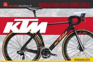 KTM Revelator Lisse Sonic 2021: bici da corsa leggera