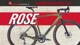 La nuova bici per il gravel Rose Backroad Classified 2021