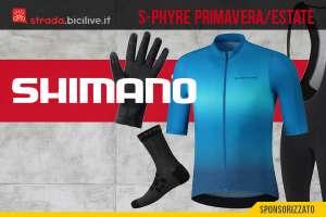La nuova collezione primavera/estate di capi per il ciclismo Shimano S-Phyre 2021