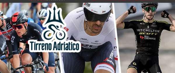 La storia della competizione ciclistica Tirreno-Adriatico detta la Corsa dei due Mari