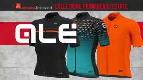 La nuova collezione primavera/estate 2021 delle maglie tecniche da ciclismo Alècycling
