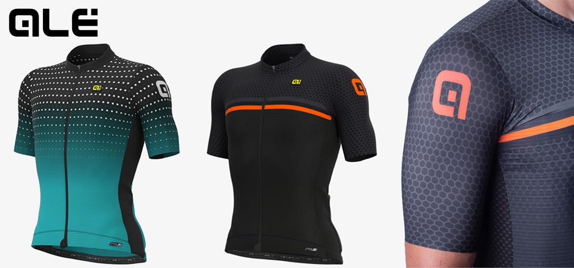 Le nuove maglie tecniche da ciclismo Alècycling Pr-s Bullet e Pr-s Bridge della collezione primavera/estate 2021