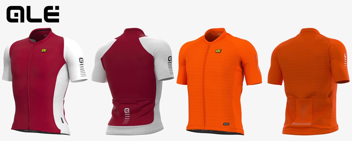 Le nuove maglie per ciclismo Alècycling R-ev1 Silver Cooling e Race 2.0 della collezione primavera/estate 2021