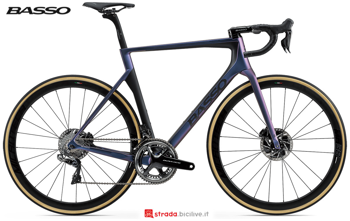La nuova bici da strada Basso Bikes Diamante SV Disc 2021