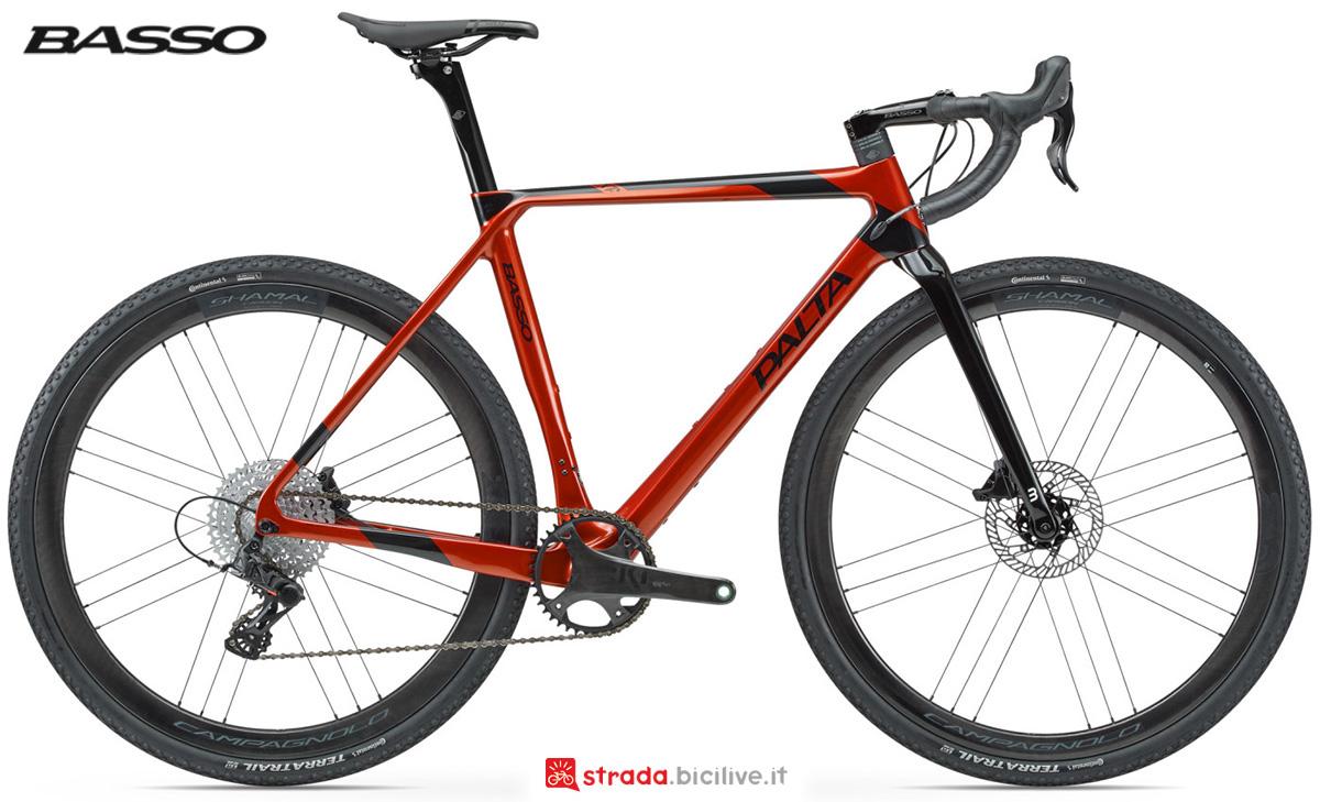 La nuova bici da gravel Basso Bikes Palta 2021 vista lateralmente