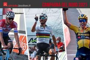 I grandi risultati ottenuti dai Fab Four del ciclismo durante la gare della Campagna del Nord 2021