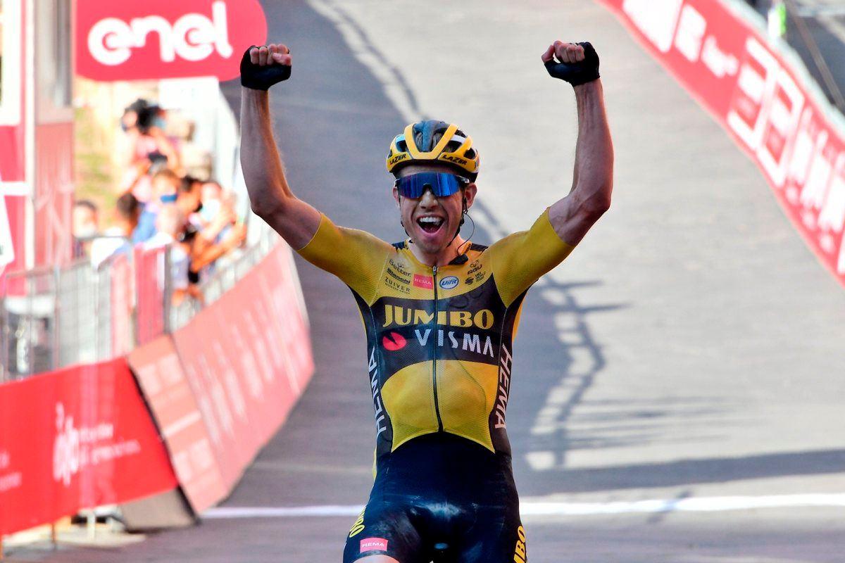 Il campione di ciclismo Wout Van Aert