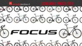 Il catalogo e i prezzi delle nuove bici da strada Focus 2021