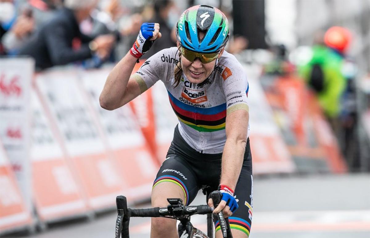 Anna Van Der Breggen vince l'edizione femminile 2020 della Freccia Vallone