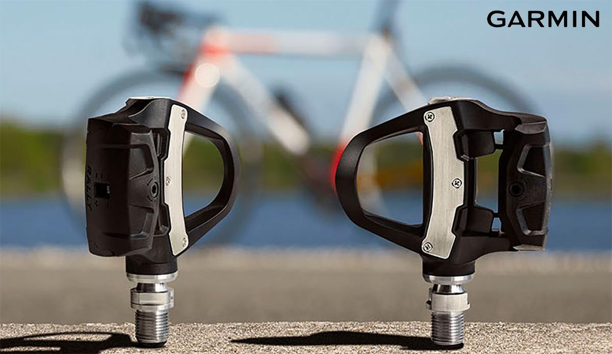 I nuovi sensori di misurazione della potenza per bici Garmin Rally 2021