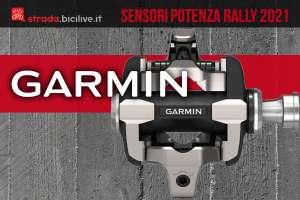 I nuovi sensori per la potenza generata in bicicletta Garmin Rally 2021