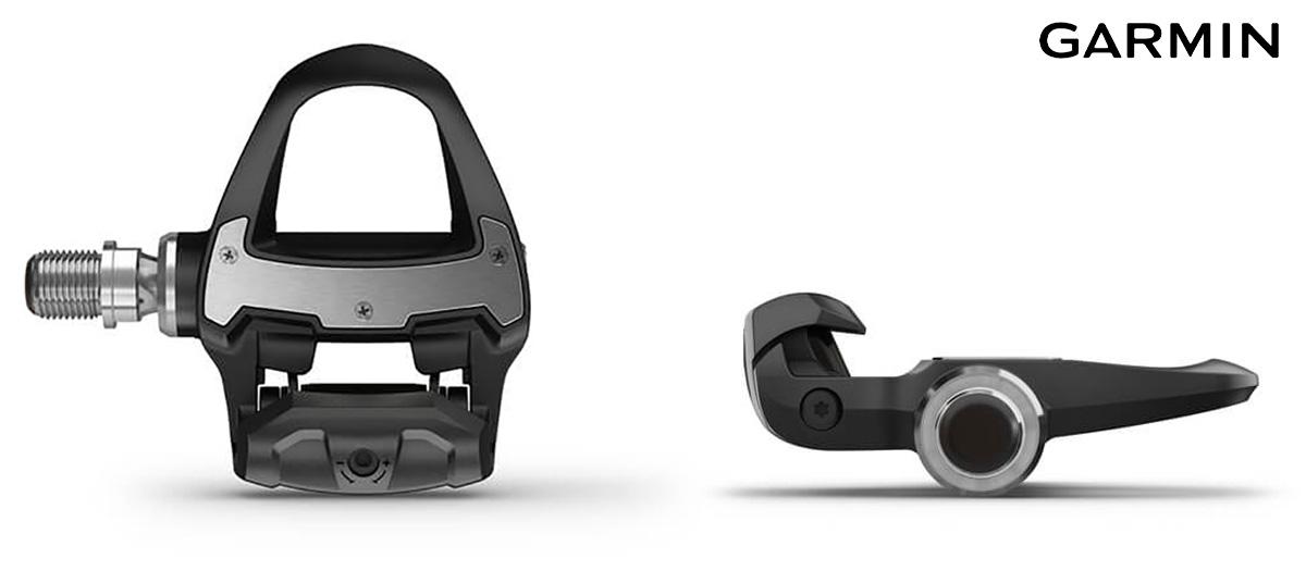 I sensori per la potenza Garmin Rally 2021 visti da diverse angolazioni
