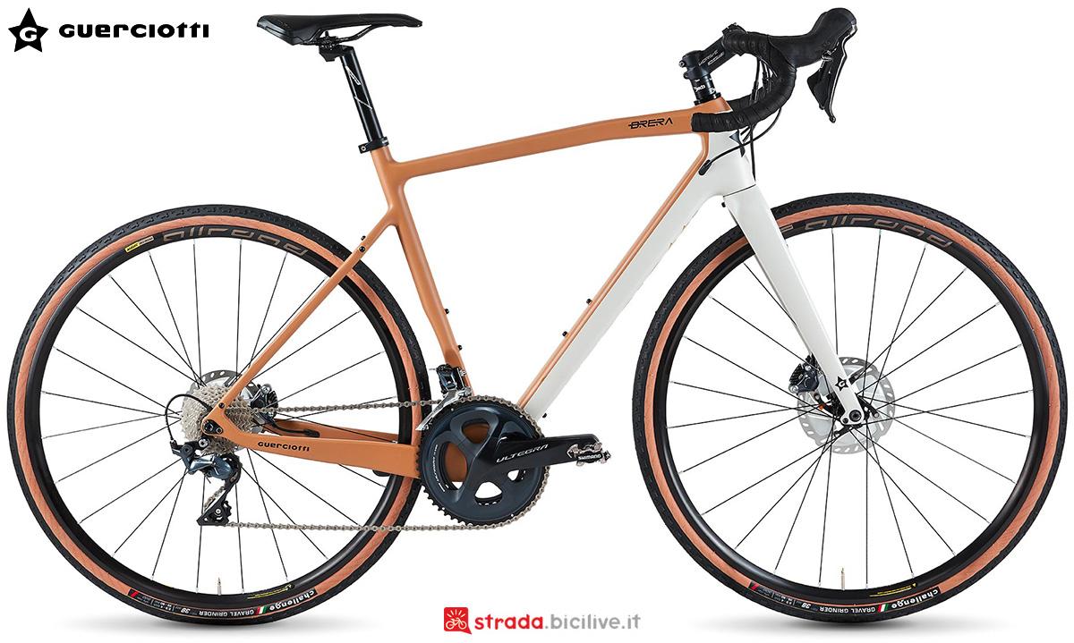 La nuova bici da gravel Guerciotti Brera 2021
