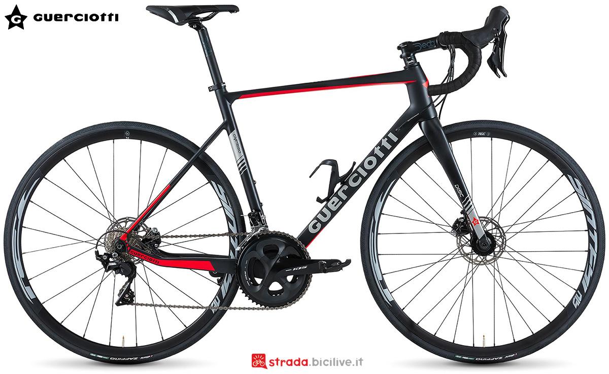 La nuova bici da strada Guerciotti Cartesio Disc 2021