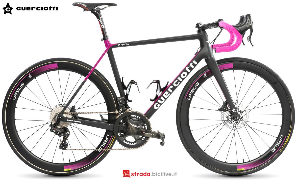 La nuova bici da strada Guerciotti e740 2021