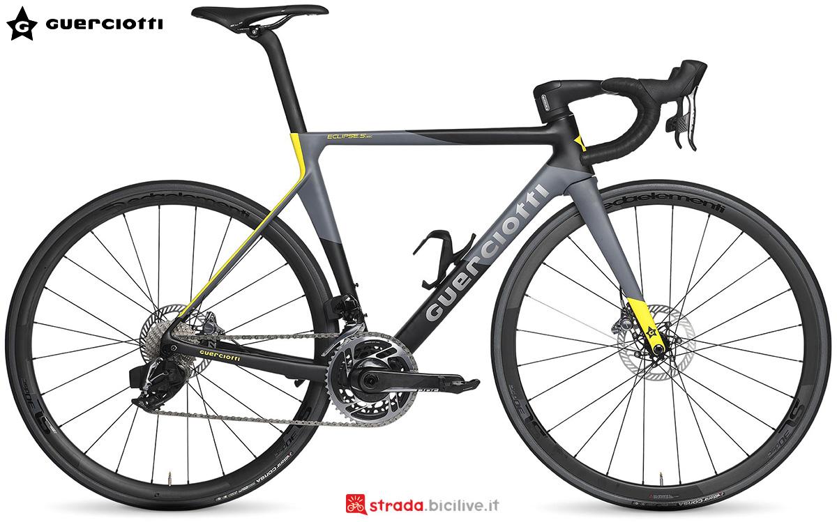 La nuova bici da corsa Guerciotti Eclipse 2021