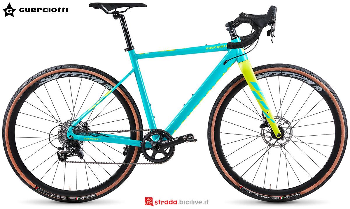 La nuova bici da gravel Guerciotti Greto 2021