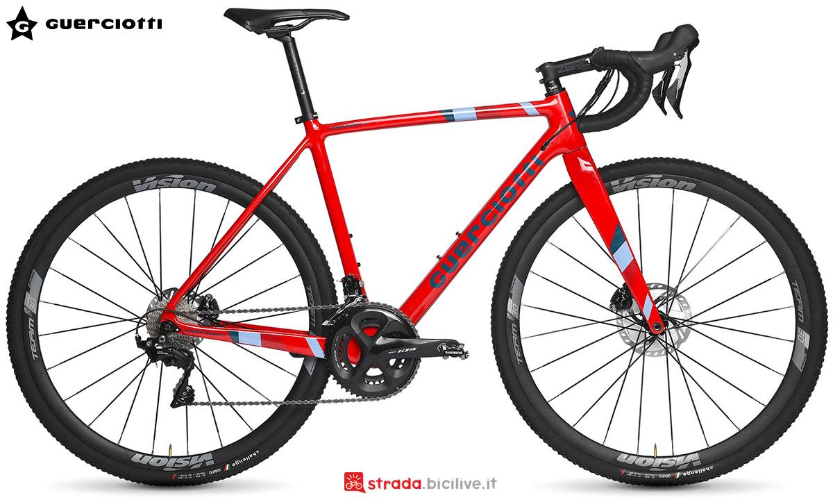 La nuova bici da ciclocross Guerciotti Lambeek 2021