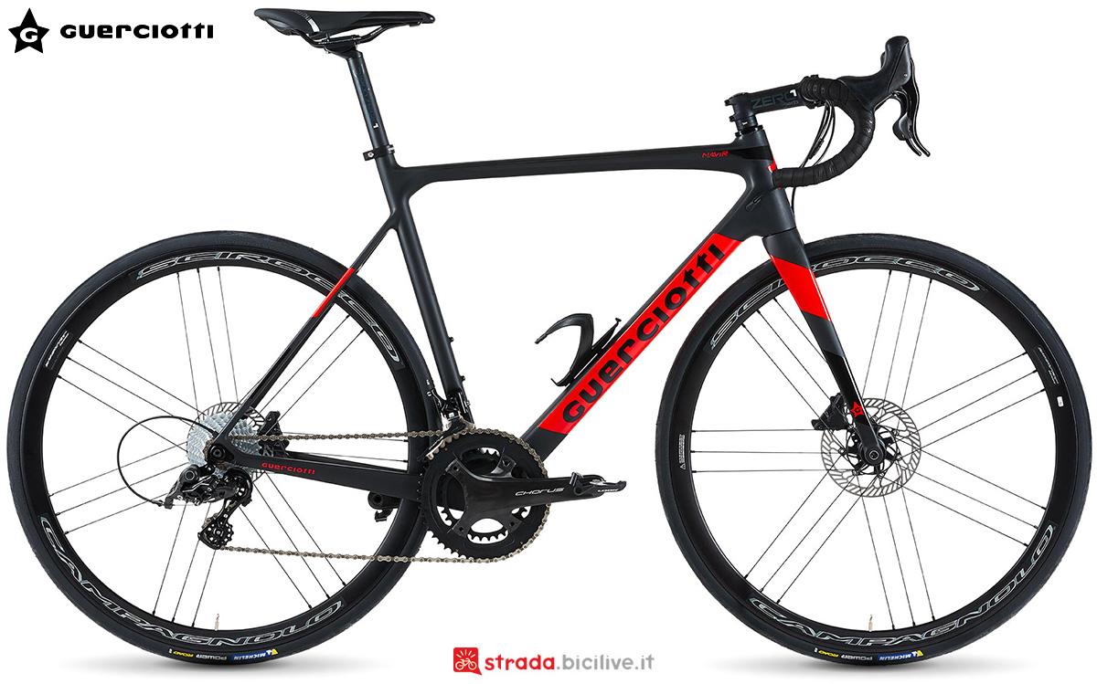 La nuova bici da corsa Guerciotti Navir 2021