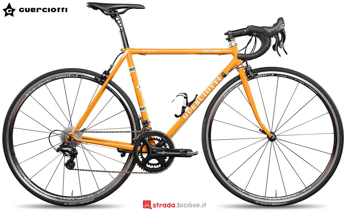 La nuova bici da strada Guerciotti Record 2021