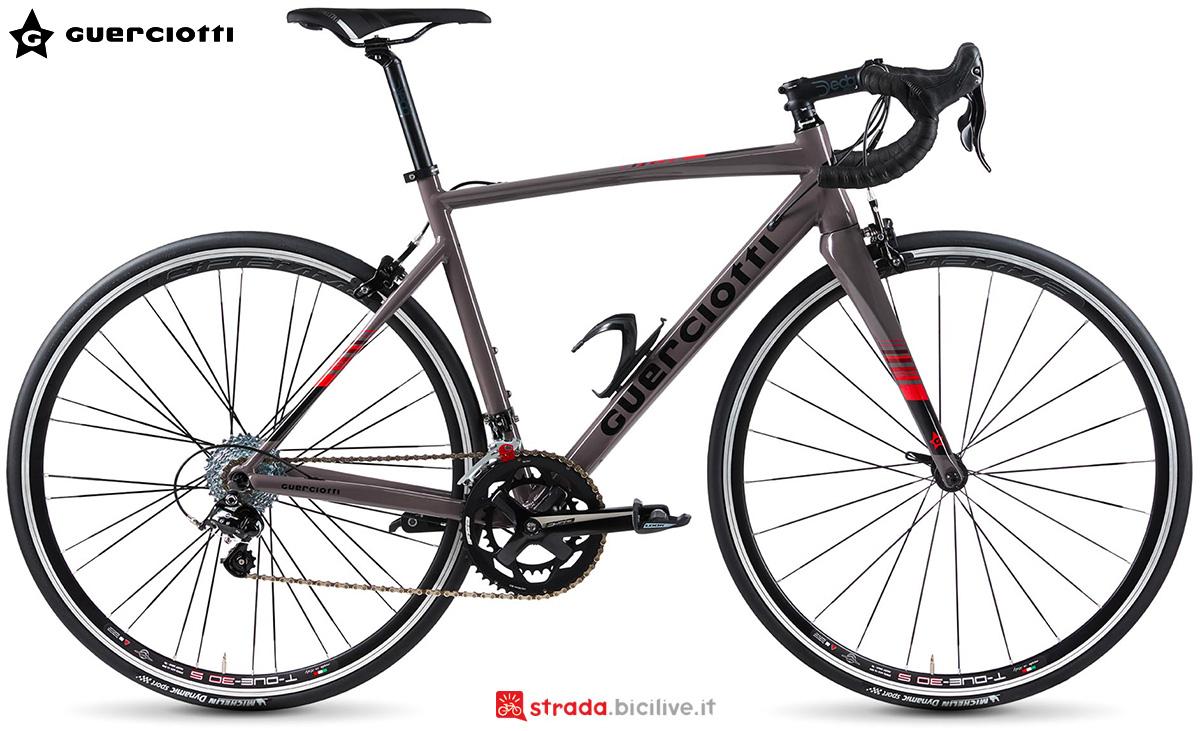 La nuova bici da corsa Guerciotti Sansiro 2021