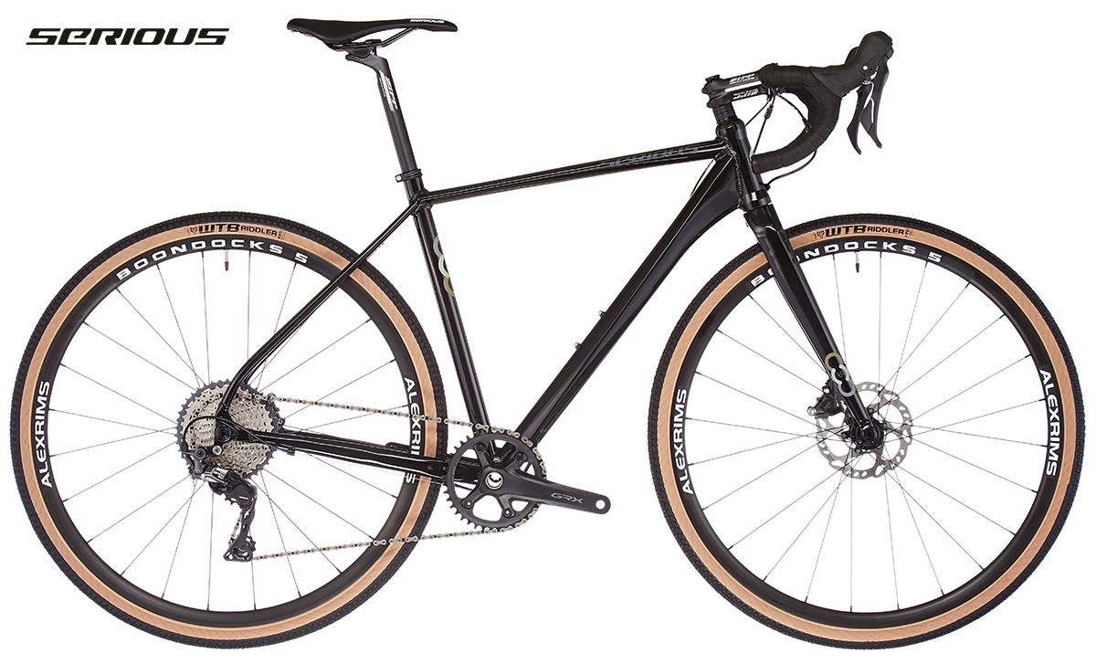 La nuova bici da gravel Serious Gravix GRX Pro 2021 vista lateralmente