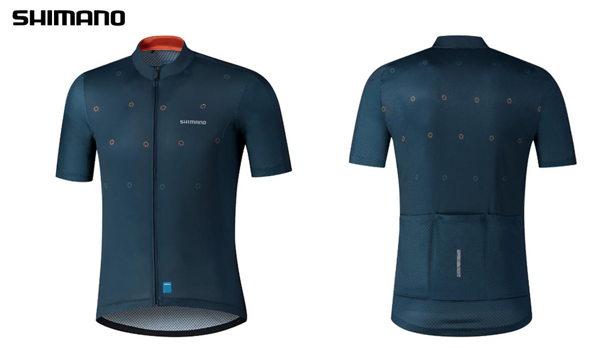 La maglia per bici da corsa della nuova linea Shimano Aerolite 2021