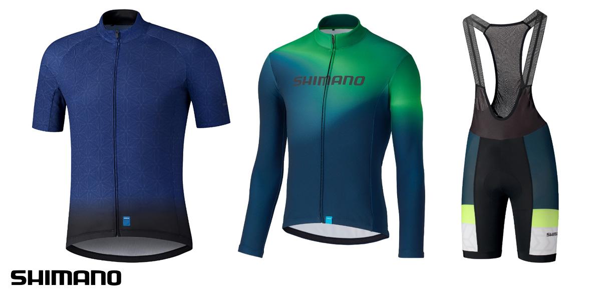 I capi d'abbigliamento per bici da strada Shimano Team 2021