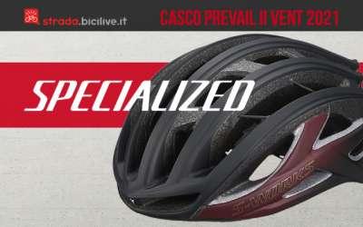 Il nuovo casco per bicicletta da corsa Specialized S-Works Prevail II Vent 2021